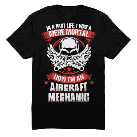 In A Past Life I Was A Mere Mortal Now I'm An Aircraft Mechanic