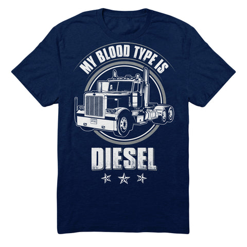 My Blood Type Is Diesel - Truck