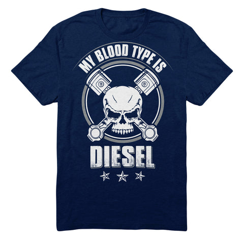 My Blood Type Is Diesel - Skull