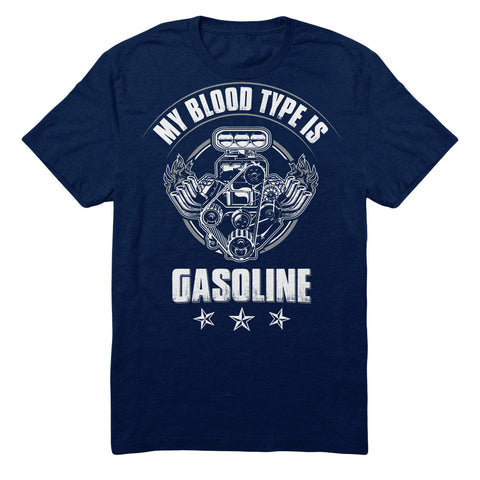 My Blood Type Is Gasoline