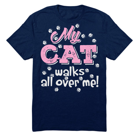 My Cat Walks All Over Me