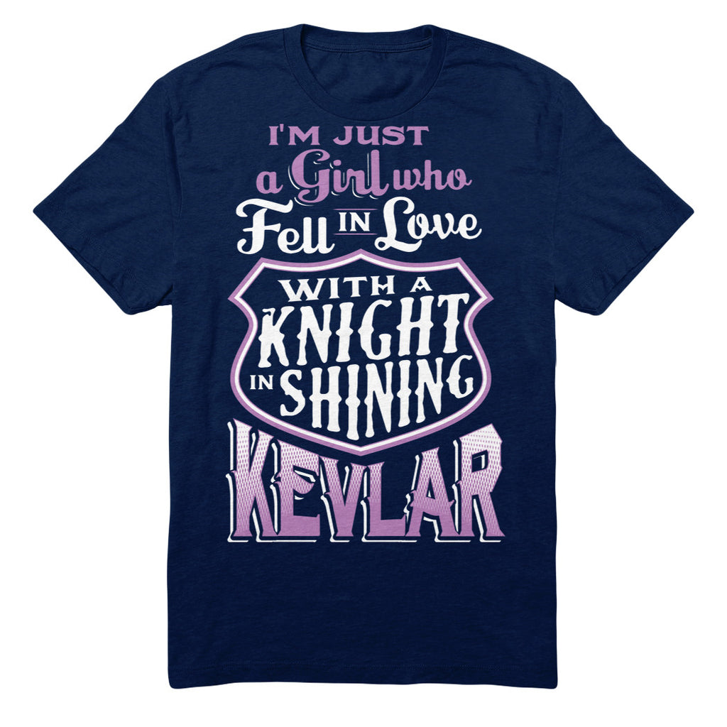 I'm Just A Girl Who Fell In Love With A Knight In Shining Kevlar