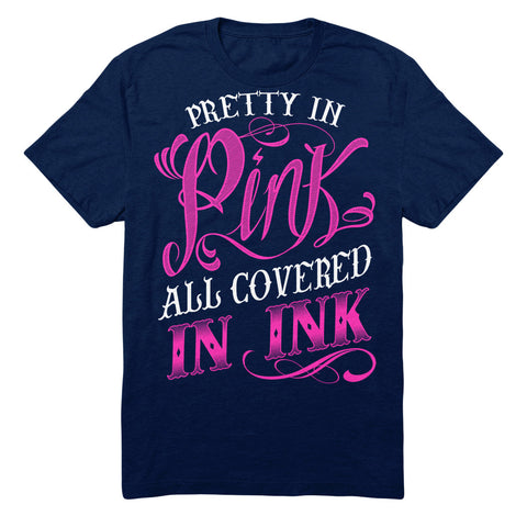 Pretty In Pink All Covered In Ink
