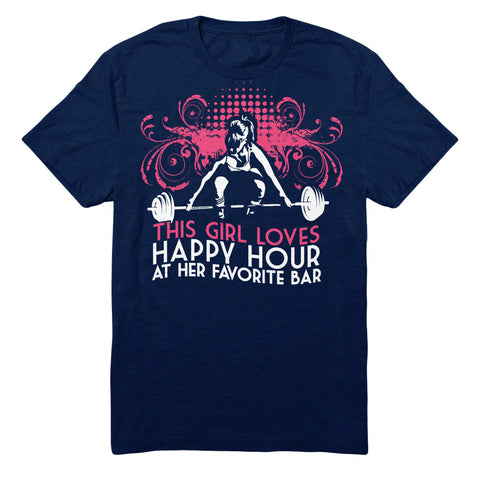 This Girl Loves Happy Hour At Her Favorite Bar