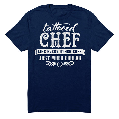 Tattooed Chef Like Every Other Chef Just Much Cooler