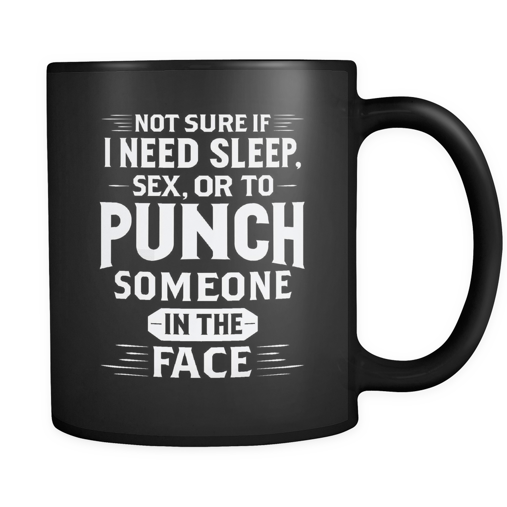 Boxing MMA Coffee Mug 11oz Black - Punch Someone In The Face - 8o4g-b12-mg 472987735
