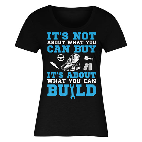 It's Not About What You Can Buy It's About What You Can Build