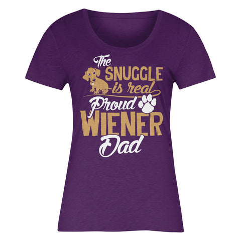 The Snuggle Is Real Proud Wiener Dad