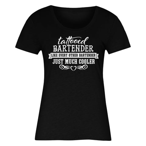 Tattooed Bartender Like Every Other Bartender Just Much Cooler