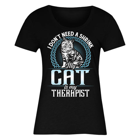 I Don't Need A Shrink My Cat Is My Therapist