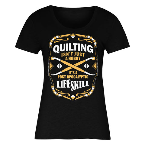 Quilting Isn't Just A Hobby It's A Post-Apocalyptic Life Skill