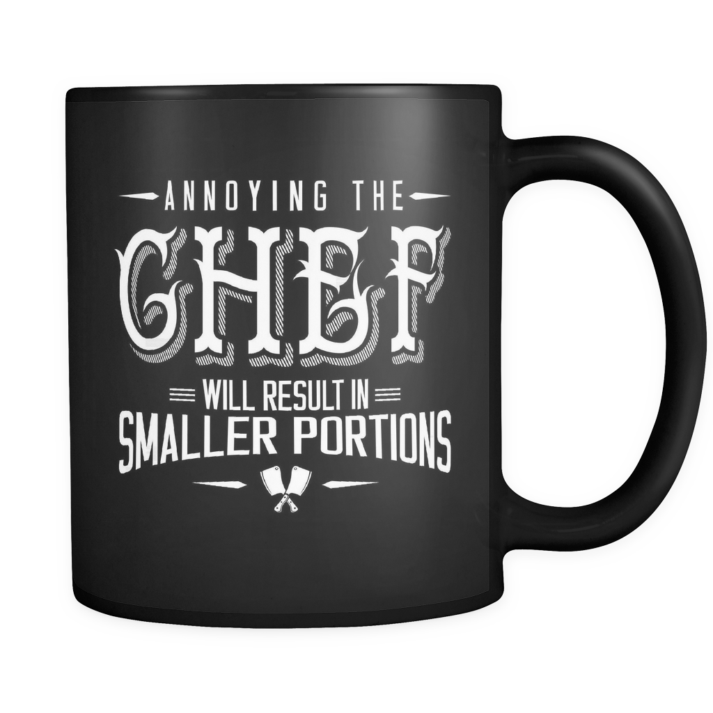 Chef Coffee Mug 11oz Black - Annoying The Chef - 2h3f-b19-mg 481749497