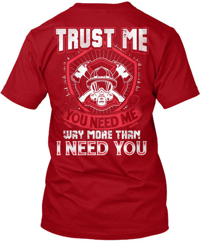 FIREFIGHTER'S SHIRT!