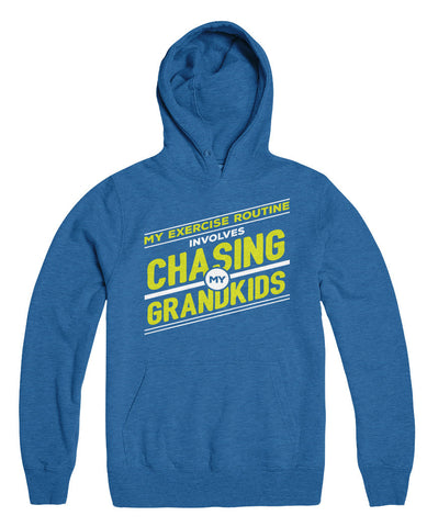 My Exercise Routine Involves Chasing My Grandkids