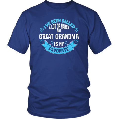 Favorite Name is Great Grandma