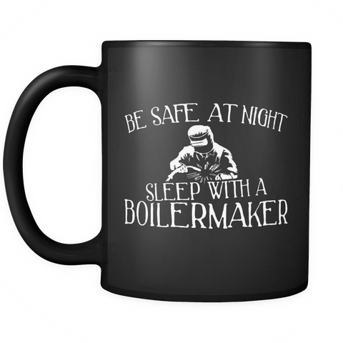 Boilermaker Coffee Mug 11oz Black - Sleep With A Boilermaker - ml7y-4d3l-mg 516371750