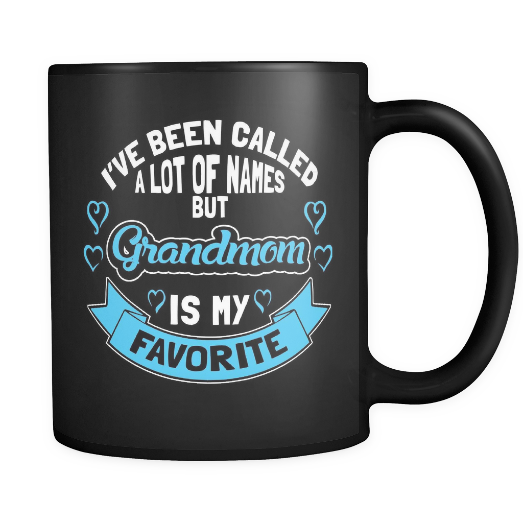 Grandmom Coffee Mug 11oz Black - Grandmom is My Favorite Name - 9r4n-b16a-mg 460954664