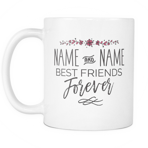Best Friends Coffee Mug 11oz White - Best Friends Forever - 8e5t-bf4-mg 510614827