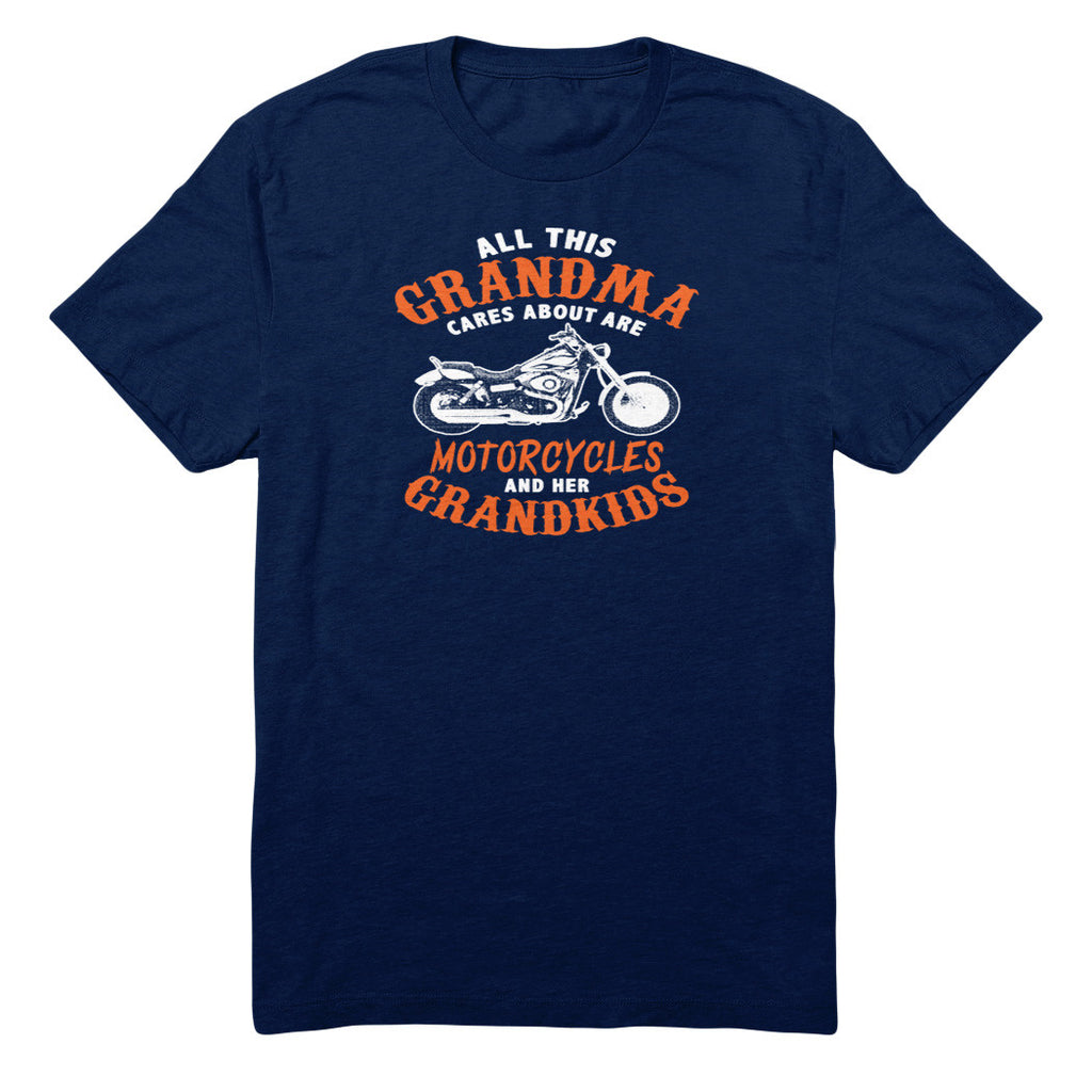 All This Grandma Cares About Are Motorcycles And Her Grandkids