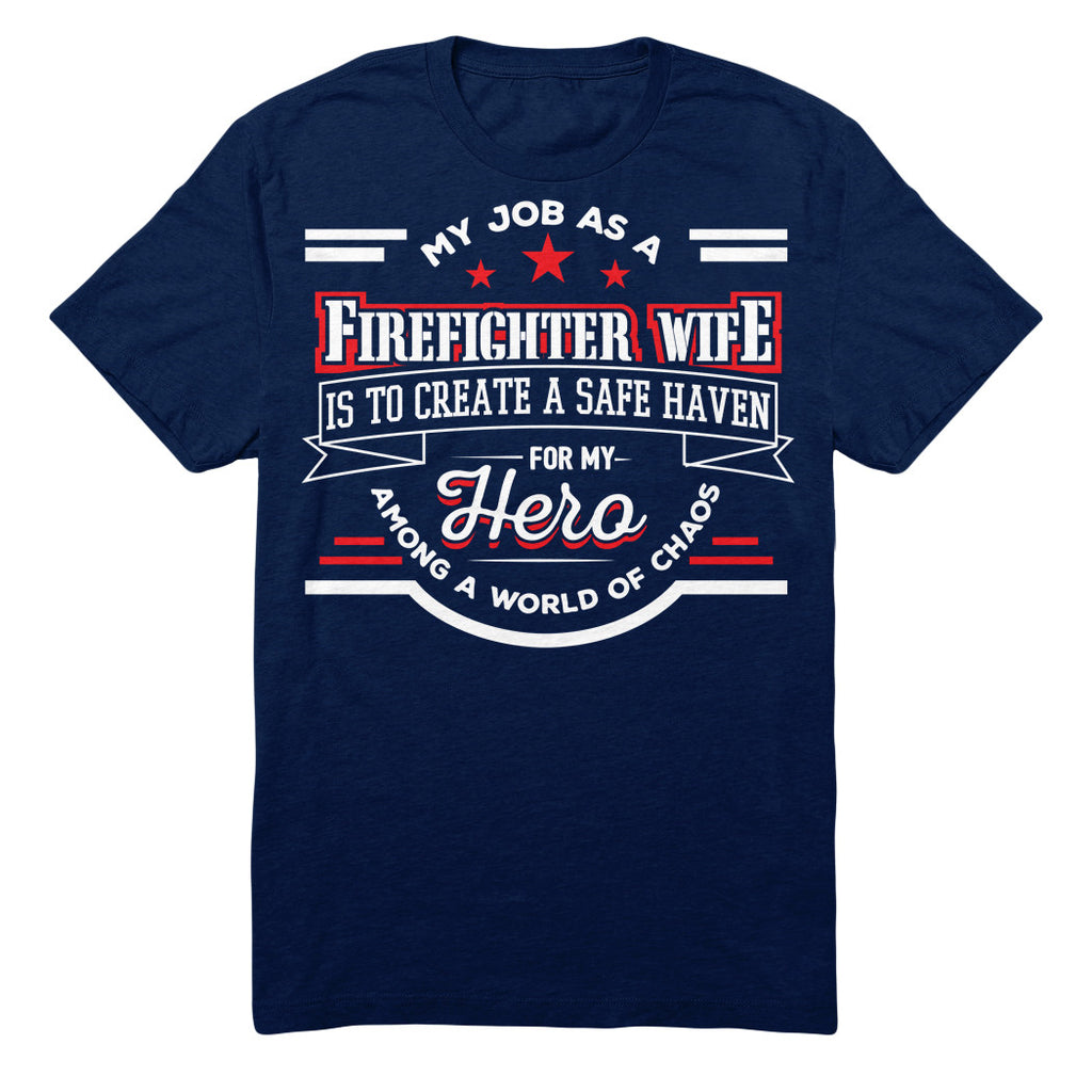 My Job As A FIREFIGHTER WIFE Is To Create A Safe Haven For My Hero Among A World Of Chaos