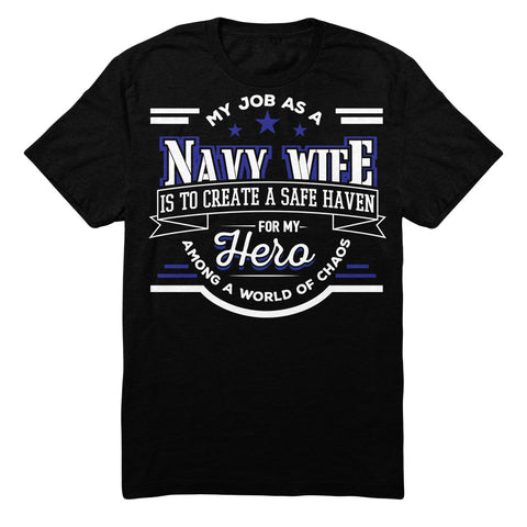 My Job As A NAVY WIFE Is To Create A Safe Haven For My Hero Among A World Of Chaos