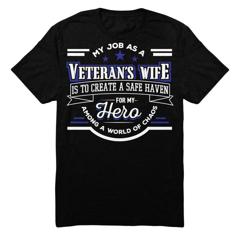 My Job As A VETERAN'S WIFE Is To Create A Safe Haven For My Hero Among A World Of Chaos