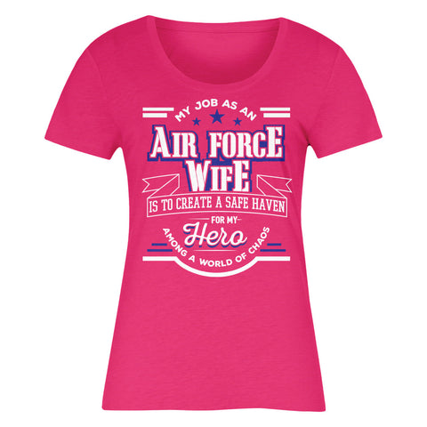 My Job As An AIR FORCE WIFE Is To Create A Safe Haven For My Hero Among A World Of Chaos