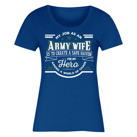 My Job As An ARMY WIFE Is To Create A Safe Haven For My Hero Among A World Of Chaos