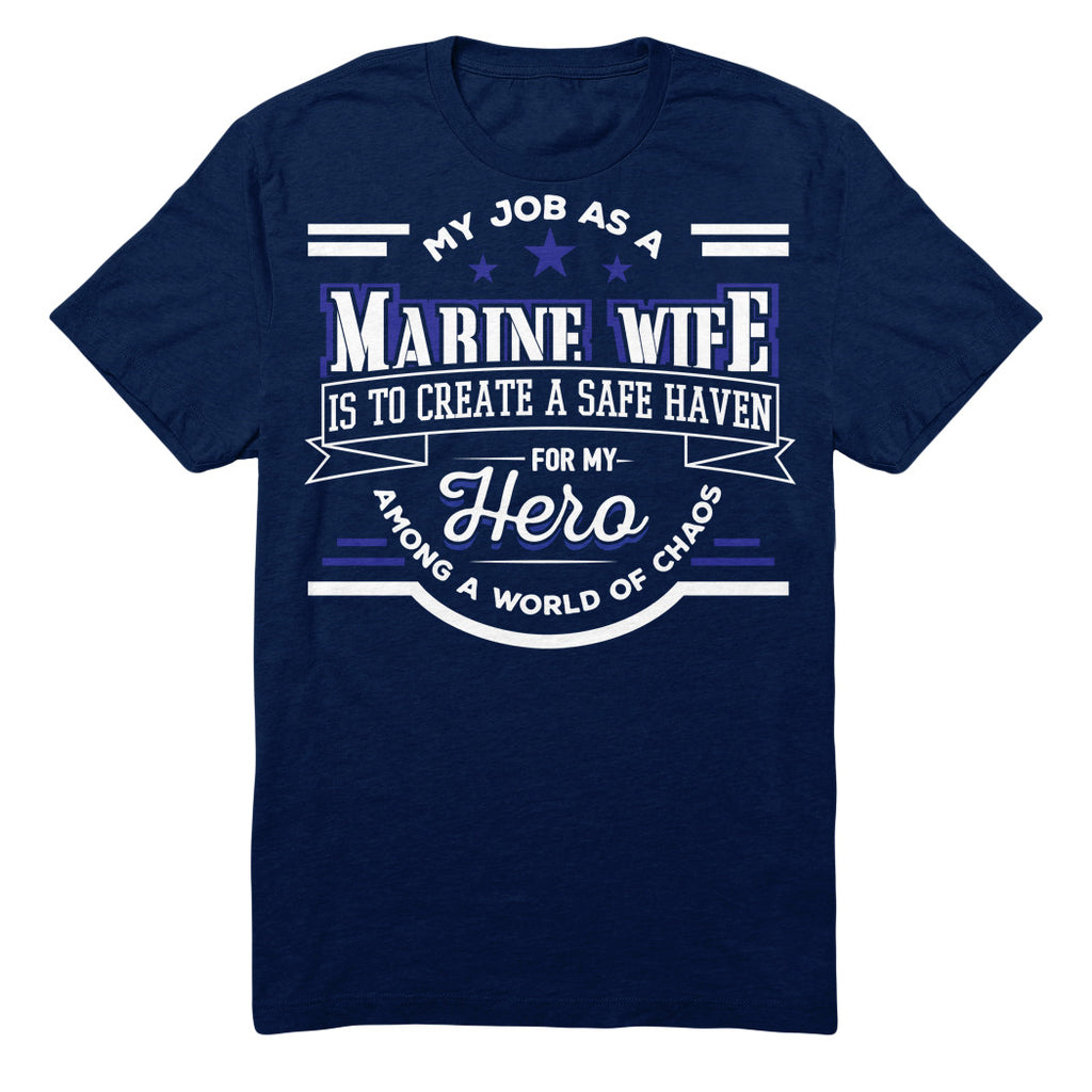 My Job As A MARINE WIFE Is To Create A Safe Haven For My Hero Among A World Of Chaos