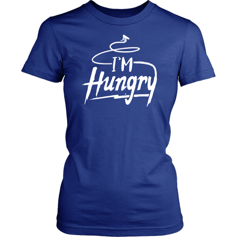 Pregnancy Announcement  Couples Shirt - I'm Hungry - 542436089