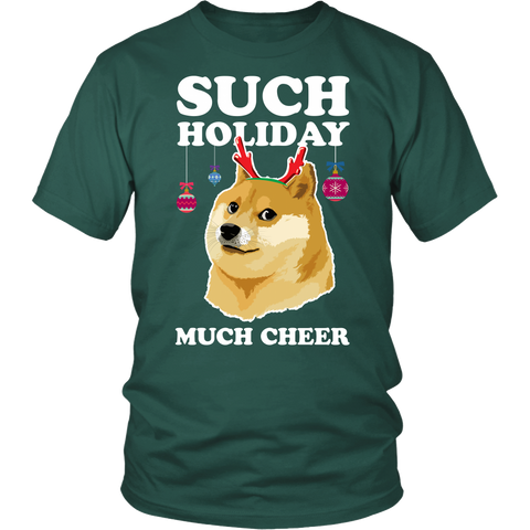 Such Holiday Much Cheer  - Funny Christmas Doge
