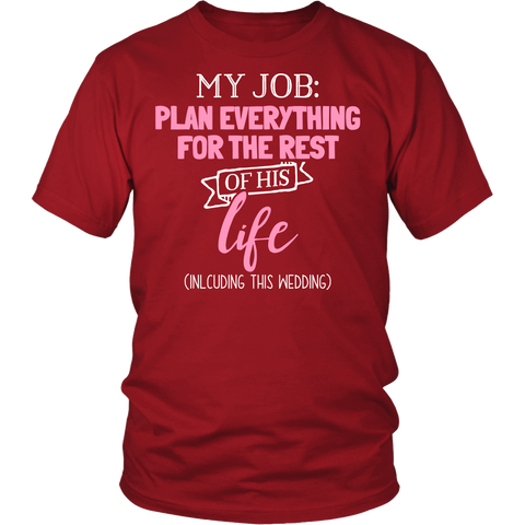 Matching Couples Shirt - Plan Everything - 534331060