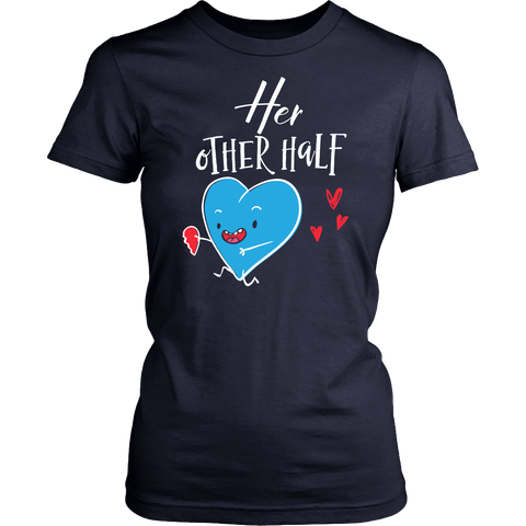Matching Couples Shirt - Her Other Half - 547143295