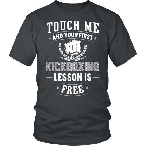Touch Me And Your First KICKBOXING Lesson Is Free
