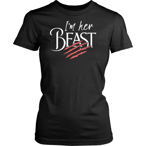 Matching Couples Shirt - I'm Her Beast - 532897828
