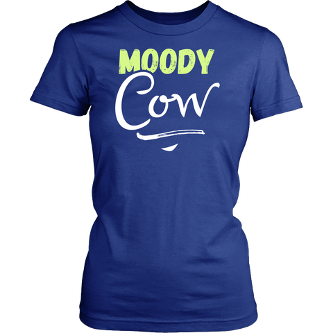 Matching Couples Shirt - Moody Cow - 547140955