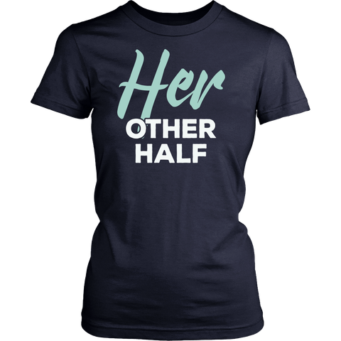 Matching Couples Shirt - Her Other Half - 547143479