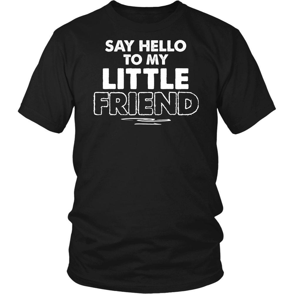 Father & Son Matching Shirt - Say Hello To My Little Friend - 539880056