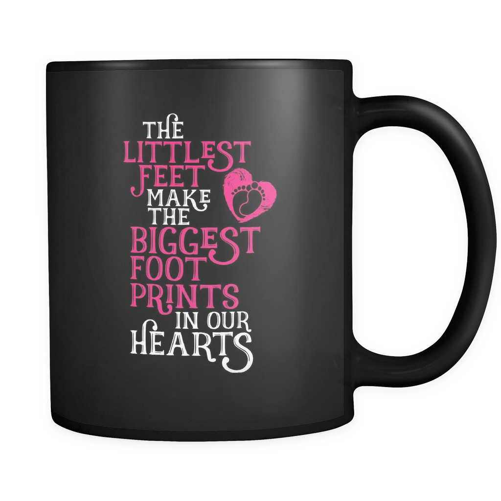 Grandma Coffee Mug 11oz Black - Littlest Feet - 9r4n-b16r-mg 474703271