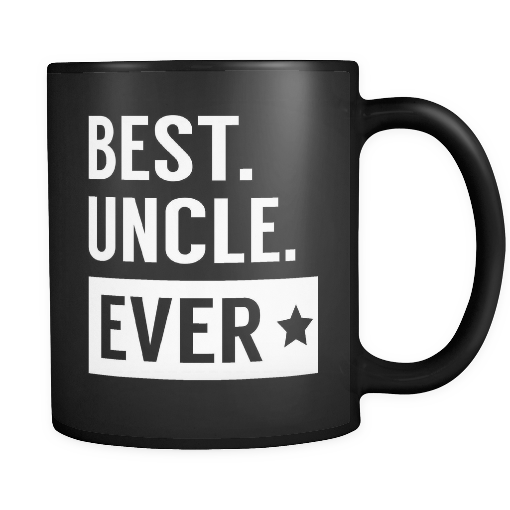 Family Coffee Mug 11oz Black - Best Uncle Ever - 491116169