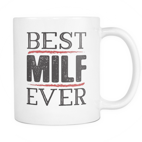 In-Laws Funny Matching Couples Coffee Mug 11oz White - Best MILF - f4m7-b30a-mg 496255214