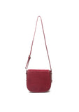 mata hari x Peony Rice Collaboration: Ali Saddlebag Burgundy