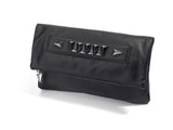 mata hari x Joomi Lim collaboration KRISTINE black leather clutch