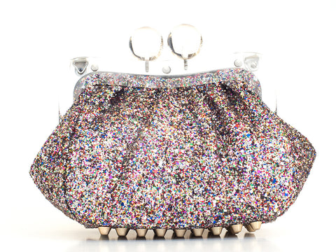 Amy Clutch multi glitter