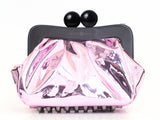 Amy Metallic Clutch Pink Mirror Metal