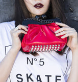 Amy Clutch red