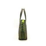 Cecily Tote Bag black/neon yellow