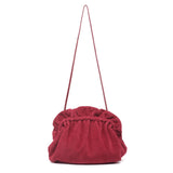 mata hari x Peony Rice Collaboration: Edie Clutch burgundy