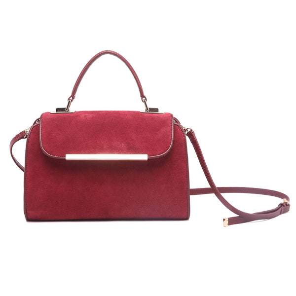 mata hari x Peony Rice Collaboration: Eliza Purse burgundy