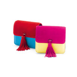 Grace for mata hari: Grace Clutch magenta/yellow